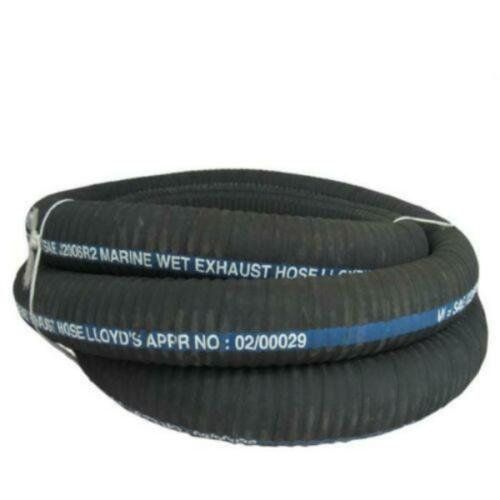Convoluted Rubber Marine Exhaust Hose For Boats 50mm Per Metre