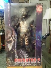 "CITY HUNTER MASKED Predator 2 Movie 18"" inch 1/4 Scale Figure Neca ReelToys 2012"