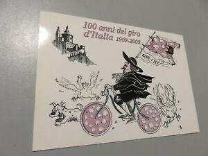CP Card Postal 1909 - 2009 100 Years Of Giro D'Italia Mesh Pink