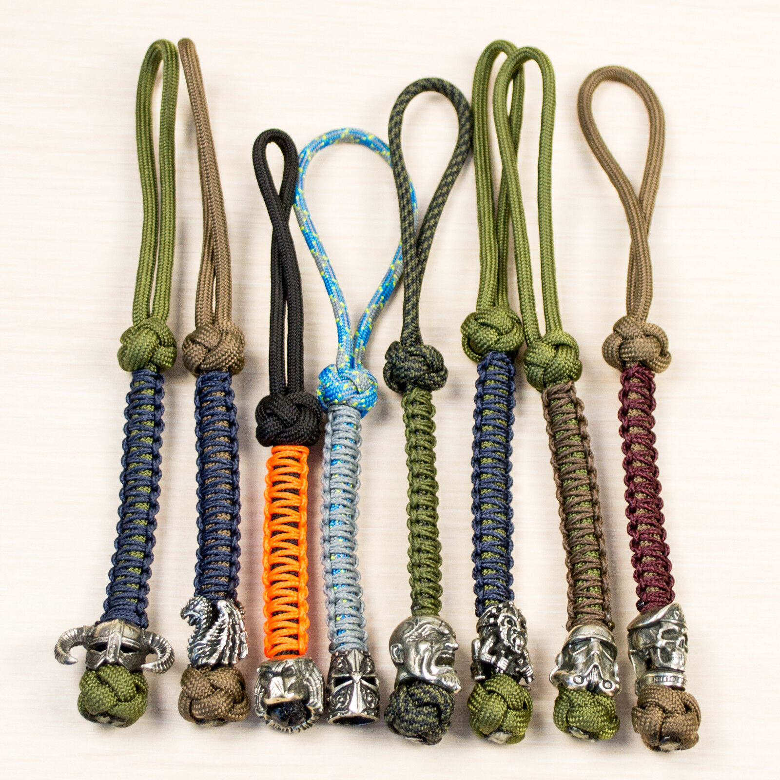 Key Fob Over 40 Artistic Beads Designs Cool Custom Paracord Lanyard Keychain