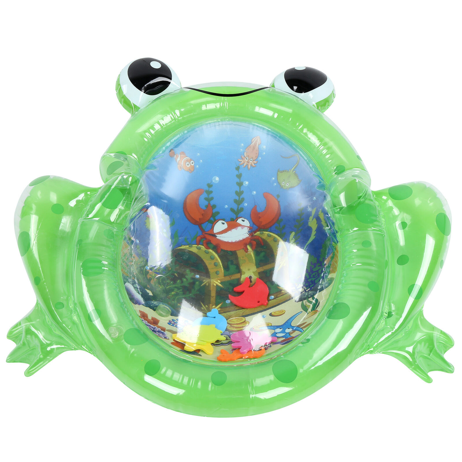 1Pcs PVC Tummy Time Baby Water Play Mat Sensory Toys Gift Fit for Kid Babies
