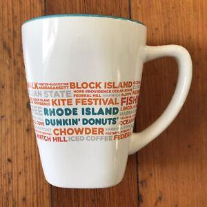 Dunkin Donuts Rhode Island 2016 DD Destinations 12 oz. Ceramic Mug