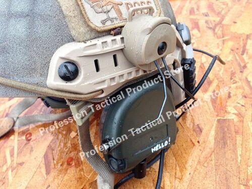 Z-TAC Z Tactical Helmet Rail Adapter Set For Sordin Headset Holder Fast Helmet