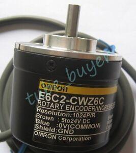 Omron-E6C2-CWZ6C-Rotary-Encoder-500P-R-New