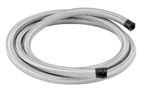 """SPECTRE 29206 6/' Steel Braided Flex Line 1//4/"""" ID x 6 Foot Long"""
