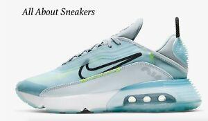 Nike-AIR-MAX-2090-034-Ice-Blue-LASER-ORANGE-034-Uomo-Scarpe-da-ginnastica-LIMITED-STOCK-Tutte-le