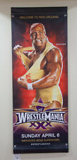 Hulk Hogan & John Cena WWE Wrestlemania XXX 30 2-Sided Street Banner Flag Poster