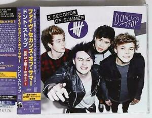 5-Seconds-Of-Summer-Don-039-t-Stop-UICC-10008-JAPAN-CD-Maxi-Single-OBI-Like-new