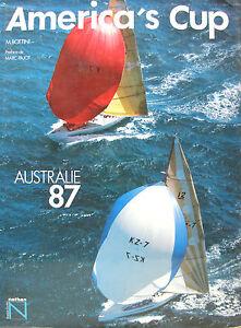 America Cup Australie 87 Par M. Bottini Preface De Marc Pajot Pvkxulds-08013520-844444276