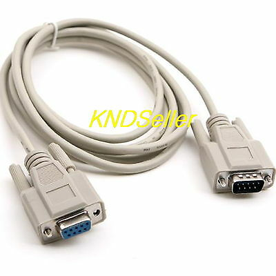 15/'Ft DB9 RS-232 Male to Female M//F Serial Extension Cable DB-9 9-Pin Wires v2