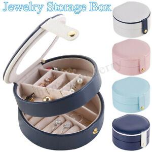 Portable-Travel-Jewelry-Box-Organizer-Leather-Jewellery-Ornaments-Case-Storage