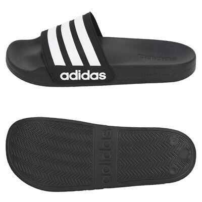 Adidas Men/'s NEO CF Adilette Slide Sandal AQ1701 Black//White//Core Black New