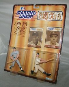 1989 Joe DiMaggio New York Yankees Kenner Starting Lineup SLU Figure Loose Mint