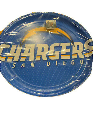 NFL San Diego Chargers Football Party Plates