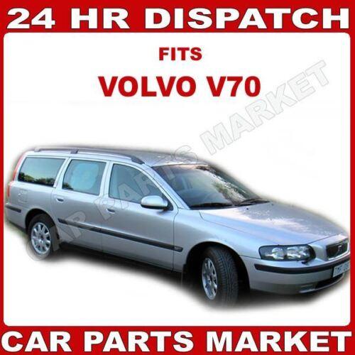 Para Volvo v70 2000-2003 Derecho Lado Del Conductor Cristal Espejo Ala Eléctrica Placa