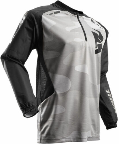 NEW THOR TERRAIN MOTORCYCLE JERSEY BOTH COLORS ALL SIZES MX ATV BMX