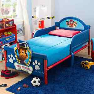 Nick Jr. Paw Patrol Kids Bedroom Furniture Toddler 3D Footboard ...