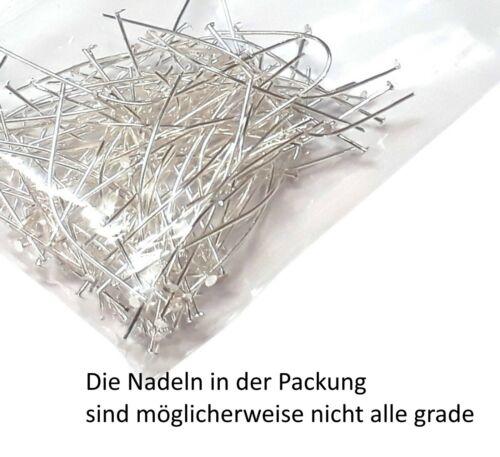 300 kettelstifte aguja nietstifte tíbet plata cabeza lápices 30mm 40mm 50mm Mix