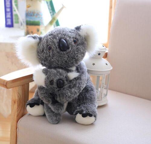 Koala Plush Toys For Children Australian Bear Stuffed Soft Doll Mom And Baby New