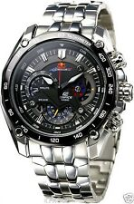 Imported Casio Edifice Black Dial Red Bull Luxury Men's Watch-EF-550D-1AV