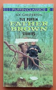 The-Puffin-Father-Brown-Stories-G-K-Chesterton-FREE-AUS-POST-acceptable-cond