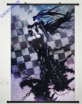 Neu Black Rock Shooter Anime Manga Wallscroll Stoffposter 60x90cm 036