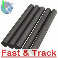 cilindri grafite 5pcs 10mm 99.99% Graphite Electrode Cylinder Rod Length 100mm