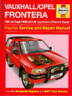 Vauxhall Frontera Service and Repair Manual by Mark Coombs, John S. Mead (Hardback, 1998)