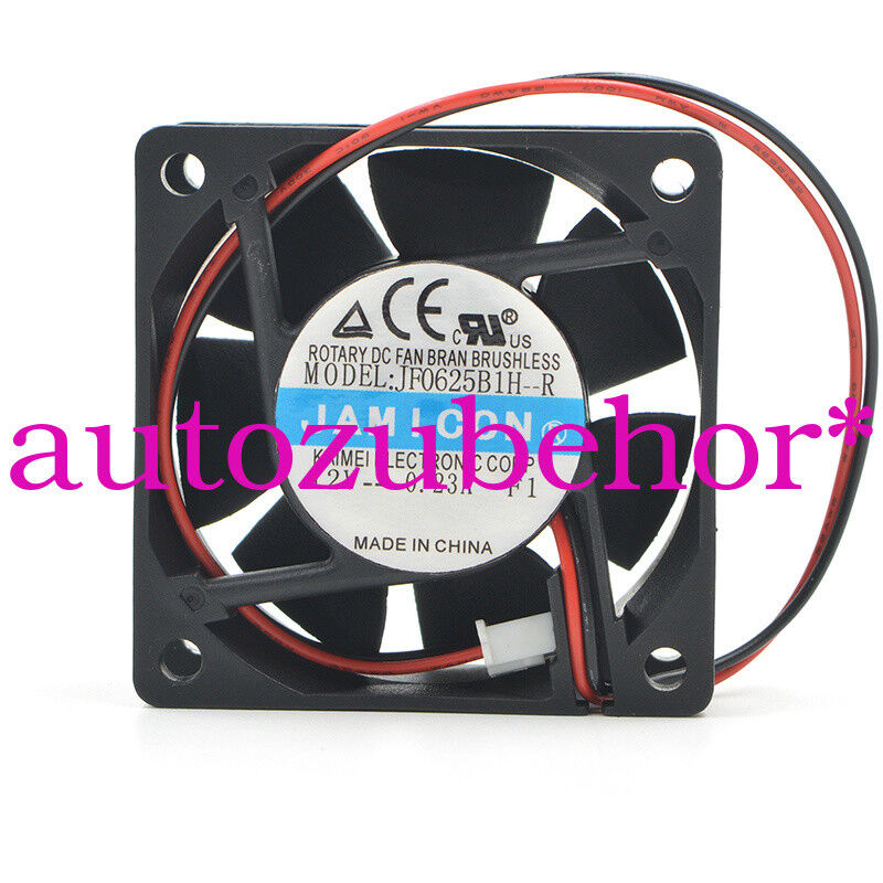 for new ORIGIANL JAMICON JF0625B1H-R DC12V 0.23A 2wire axial flow fan good work