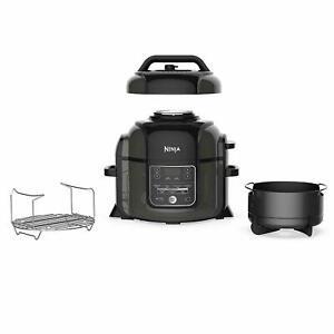 Ninja OP301 Cooker/Steamer 6.5QT Tender Crisp Technology Air Fryer REFURBISHED