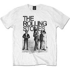 Rolling-Stones-Est-1962-Group-Photo-Official-Merchandise-T-Shirt-M-L-XL-Neu