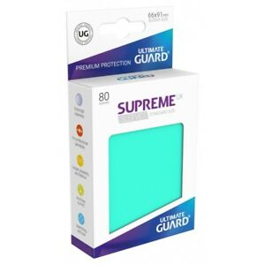 80 Ultimate Guard SUPREME UX STANDARD Size Card Sleeves MATTE BURGUNDY
