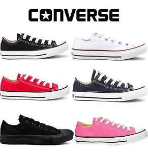 df18e0cdd51d55 Image is loading Converse-Classic-Chuck-Taylor-Low-Trainer-Sneaker-All-