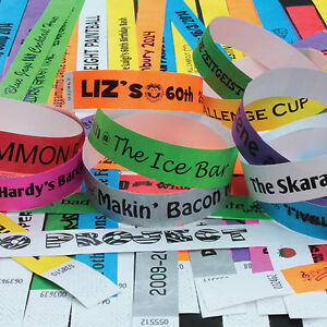PRINTED-PARTY-19mm-Tyvek-Wristbands-Ideal-for-Parties-Festivals-amp-Events