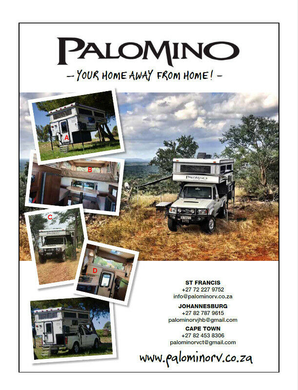 New 2020  Palomino Back Packer SS 500 pop up bakkie campers for sale