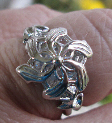 Galadriel's Lord of the Rings Nenya Ring 925 Sterling Silver
