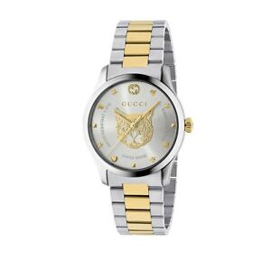 d06bb6b0819 New Gucci G-Timeless Two-Tone Stainless Steel 38mm Unisex Watch ...