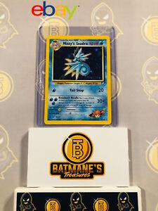 Misty-039-s-Seadra-9-132-NM-M-MINT-Gym-Heroes-Holofoil-Rare-Holo-Pokemon-Card