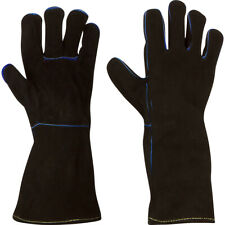 Welding Gloves Cowhide Leather Made With Kevlar Barbecue Fireplace Welder