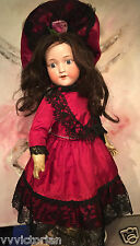 Antique ORIGINAL German Porcelaine Bisque Head doll 1900