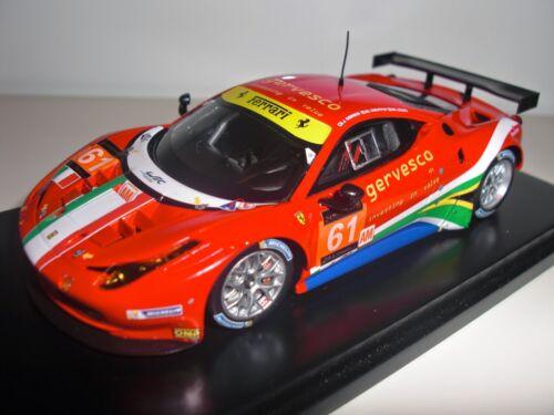 2013 Le Mans Resin 1//43 Fujimi TrueScale FJM1443004 Ferrari 458 Italia GTE #61