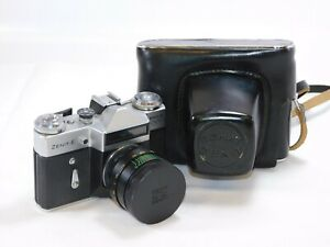 ZENIT-E-MOSHVA-80-Olympics-Edition-35mm-Film-SLR-CAMERA-with-CASE-Tested
