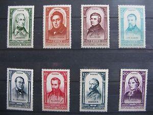 FRANCE-neufs-n-795-a-802-CELEBRITES-DE-LA-REVOLUTION-DE-1848-1948