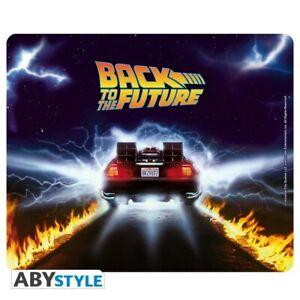 Zurueck-in-die-Zukunft-flexibles-Mousepad-DeLorean-ABYStyle