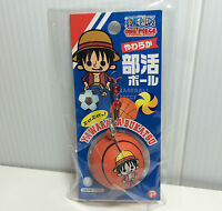 Licensed One Piece Sport Ball Squishies Money D. Luffy Basketball Nic Squishy