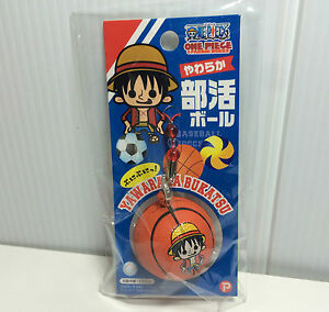Basketball Squishy : Licensed One Piece Sport Ball Squishies Money D. Luffy Basketball Nic Squishy eBay