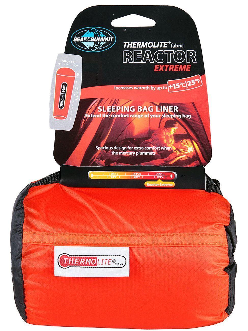 Bolsa de Dormir para Acampar al aire libre sea to summit  Thermolite reactor Extreme