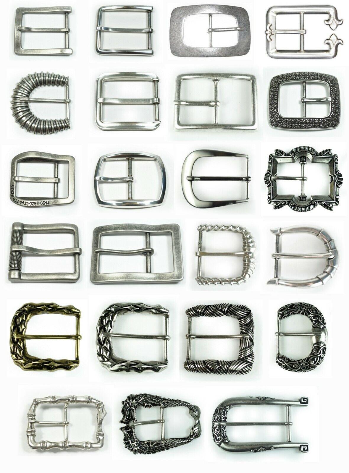 Schließe Gürtel-Schnalle Dornschließe für 4 cm Schnallen Designer Dornschließen