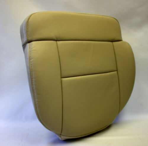 2005 2006 Ford F150 Lariat SuperCrew 4X4 Driver Bottom Leather Seat Cover Tan