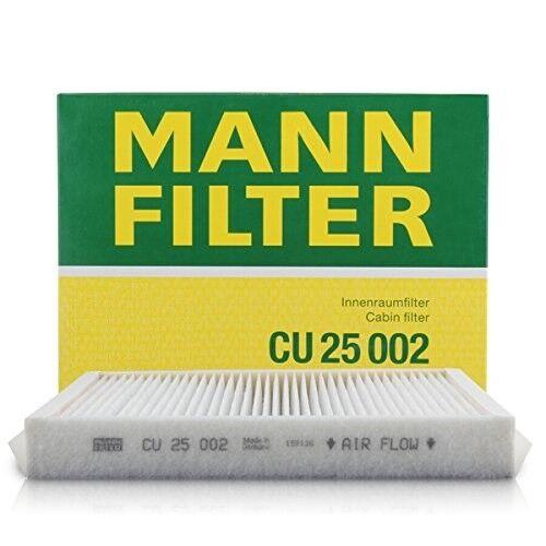 CU25002 CU 25 002 Mann Cabin Air Filter